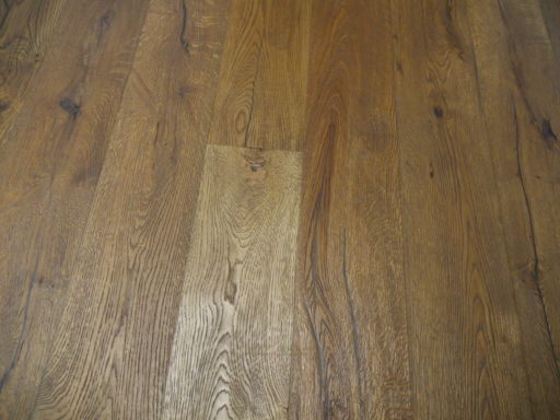 Tradition Antique Oak Engineered Flooring, Rustic, Distressed, Brushed, Light Brown, 1900x20x190 mm
