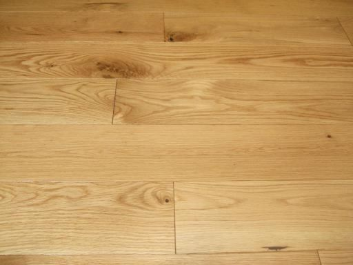 Tradition Classics Engineered Oak Flooring, Prime, Brushed & Invisible Lacquered, 190x20x1900 mm