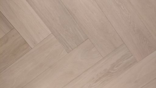 Tradition Engineered Oak Parquet Flooring, Herringbone, Prime, Unfinished, 150x14x600 mm