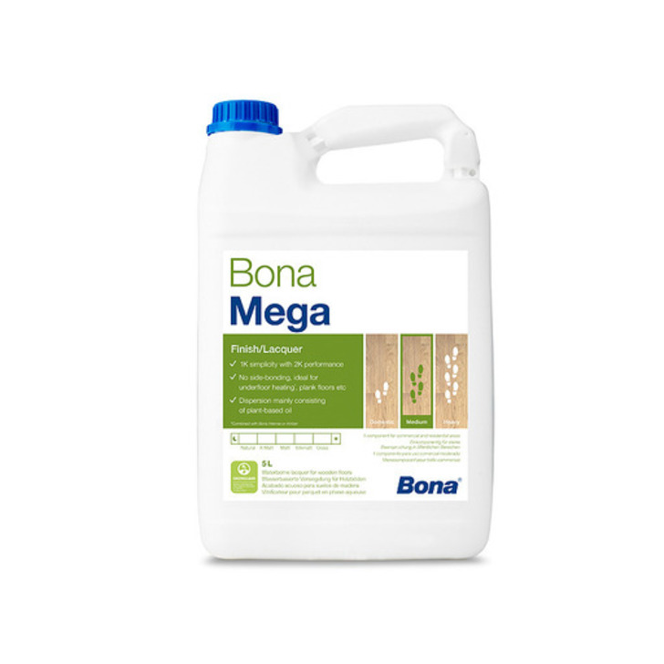 Bona Mega Extra Matt Varnish 5L