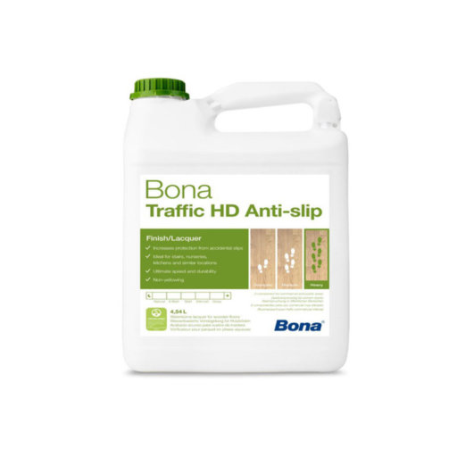 Bona Traffic HD Anti Slip Varnish, Matt, 4.95 L