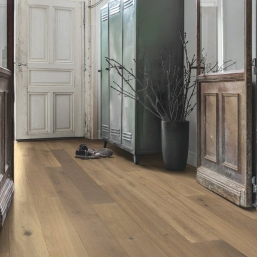Quickstep Compact Nutmeg Oak Engineered Flooring, Oiled, 145x2.5x12.5 mm